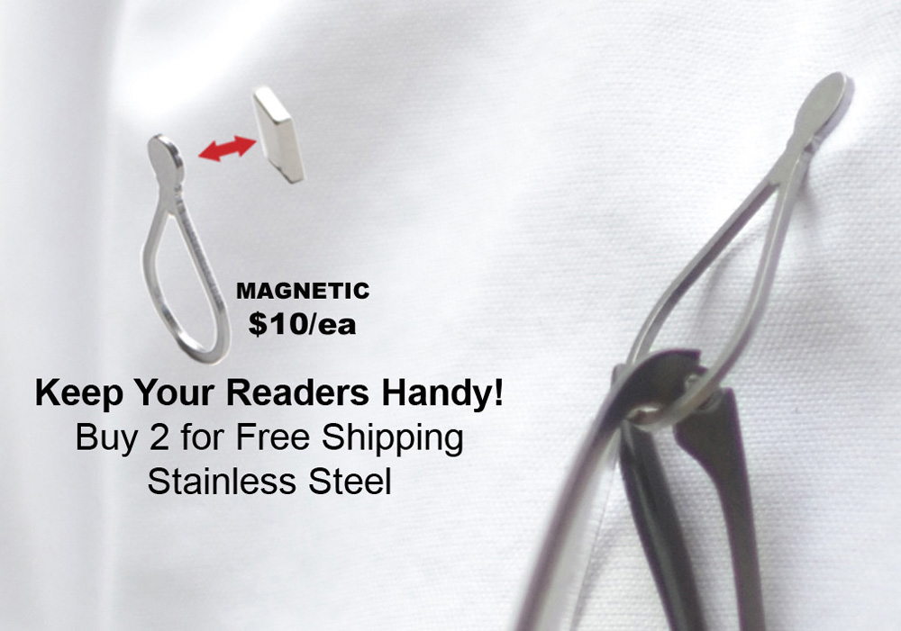 fd897621ac10 Magnetic Eyeglass Holders for Men and Women - Magnetic Eyeglass Holders
